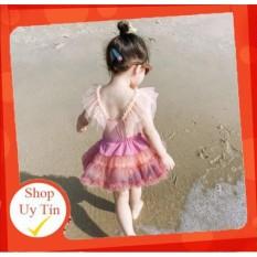 [Lấy mã giảm thêm 30%]✅ Bộ đồ bơi liền kèm chân váy xoè đáng yêu dành cho bé (chân váy rời)