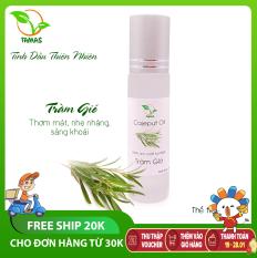 Tinh dầu Tràm Gió dạng bi lăn 10ml- Kháng khuẩn, Khử mùi, An toàn cho bé- Tinh dầu thơm, dầu gió cho bé – TAMAS