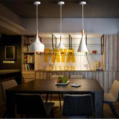 COMBO 3 ĐÈN [A+B+C] Đèn Thả Bàn Ăn BEATLIGHT – ĐUI GỖ – [CM029] (Tặng kèm bóng LED chuyên dụng)