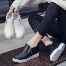 Giày lười nữ có khóa kéo- FL05D