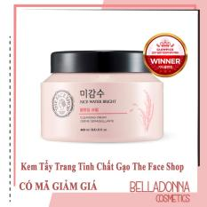 Kem Tẩy Trang Tinh Chất Gạo The Face Shop Rice Water Bright Cleansing Cream
