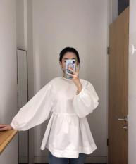Áo babydoll cột nơ sau lưng siêu yêu giá siêu rẻ