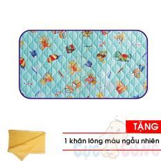 Tấm lót chống thấm Jia Ding baby 70×100 cm – 0207 Tặng Khăn tắm cotton siêu mềm màu ngẫu nhiên 25x40cm