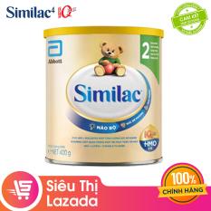[Siêu thị Lazada]Sữa bột Similac Eye-Q 2 HMO 400g Gold Label cung cấp nguồn dinh dưỡng đầy đủ cho bé phát triển toàn diện