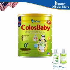 Sản phẩm dinh dưỡng Công Thức ColosBaby IQ 0+ 800g -S
