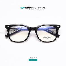Gọng kính cận nam nữ chính hãng ZAC&CODY mắt vuông, lõi thép chống gãy, nhiều màu sắc ZC-K9001