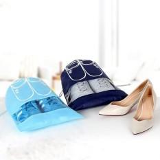 Combo 10 túi đựng giày dép – Túi đựng giày dép có dây rút – Túi đựng giày dép đi du lịch
