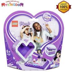 MY KINGDOM – Đồ Chơi Lắp Ráp LEGO Chiếc Hộp Trái Tim Của Emma 41355