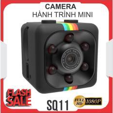 Camera giám sát, Camera hành trình xe máy full HD 1080, camera hành trình mini giá rẻ SQ11 (Đen)