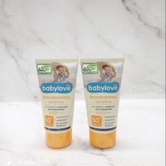 Kem chống nắng trẻ em babylove 75 ml hàng Đức