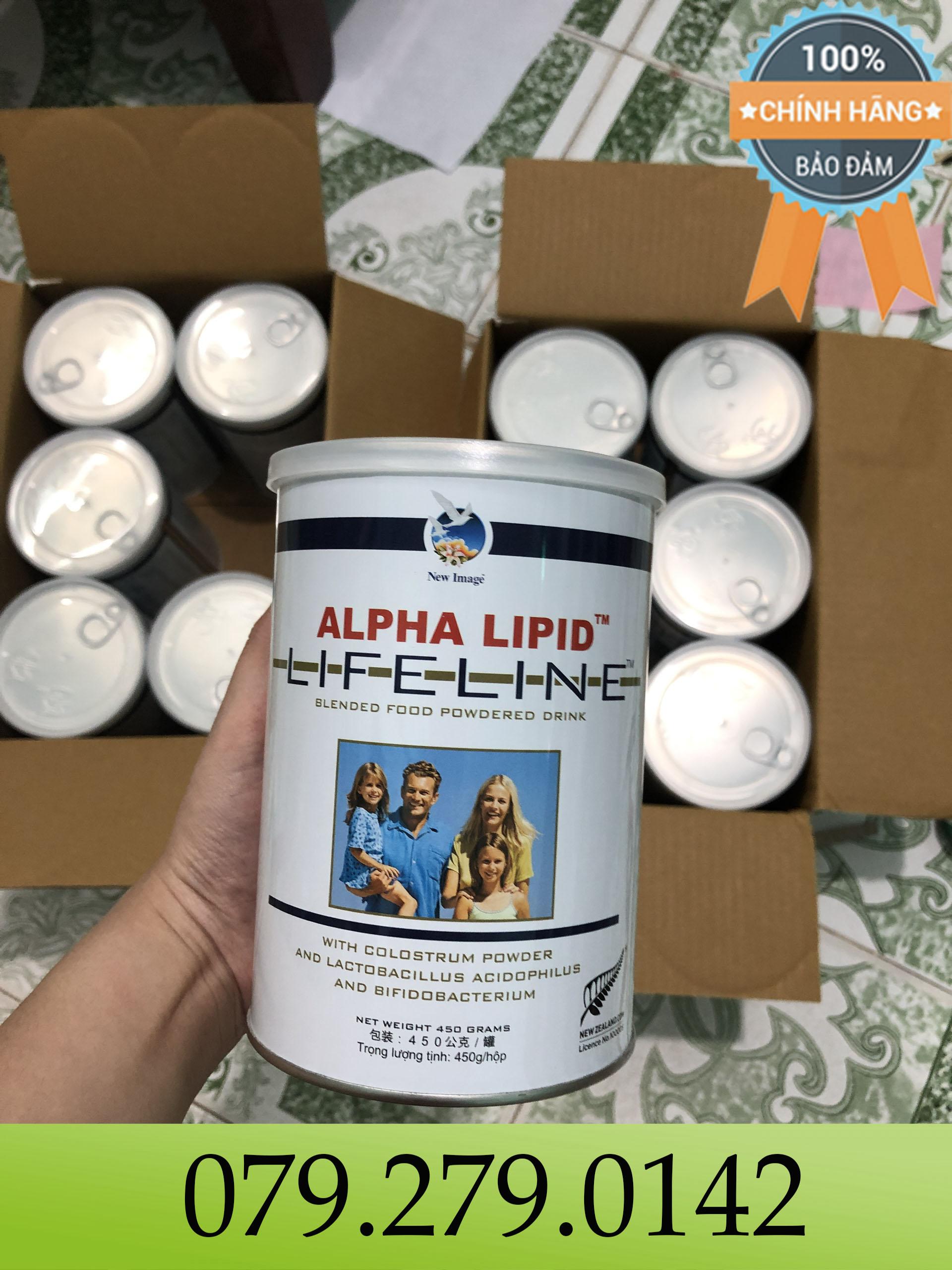 (HÀNG CHÍNH HÃNG) Sữa non ALPHA LIPID LIFELINE của New Zealand