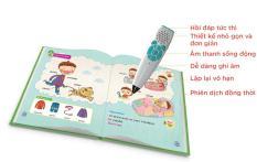 Bút giúp bé đọc tiếng anh tặng kèm khóa học 3 tháng cơ bản qua skype or tại nhà.