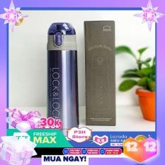 Bình giữ nhiệt Lock&lock Vacuum Bottle dung tích 500ml LHC6800FU- Ruột làm bằng Inox 304, nắp nhựa PP, không chứa BPA, chất liệu an toàn cho sức khỏe Giữ nhiệt lâu bền đẹp