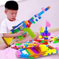 Đồ chơi xếp hình cho bé phát triển trí tuệ (420 chi tiết)