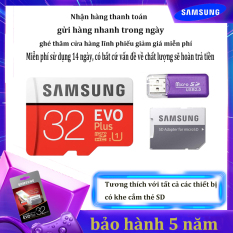 [Giảm giá / triết khấu 12% ] Thẻ nhớ Micro SD Thẻ nhớ Class 10 Samsung EVO Plus 32GB U1 4K- W60MB-R100MB With Adapter kèm Adapter
