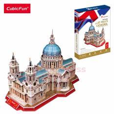 Mô hình lắp ráp 3D Cubic Fun Nhà Thờ Thánh Paul MC117H