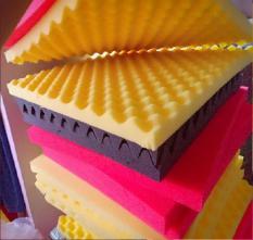 set 6 Tấm mút tiêu âm hình trứng .màu đỏ vàng xanh đen-kt 50 x 50cm dày 3cm. Mã981929926 (Được chọn màu)