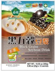 Bột ngũ cốc đậu nành mè đen khoai lang tím Đài Loan (300g)