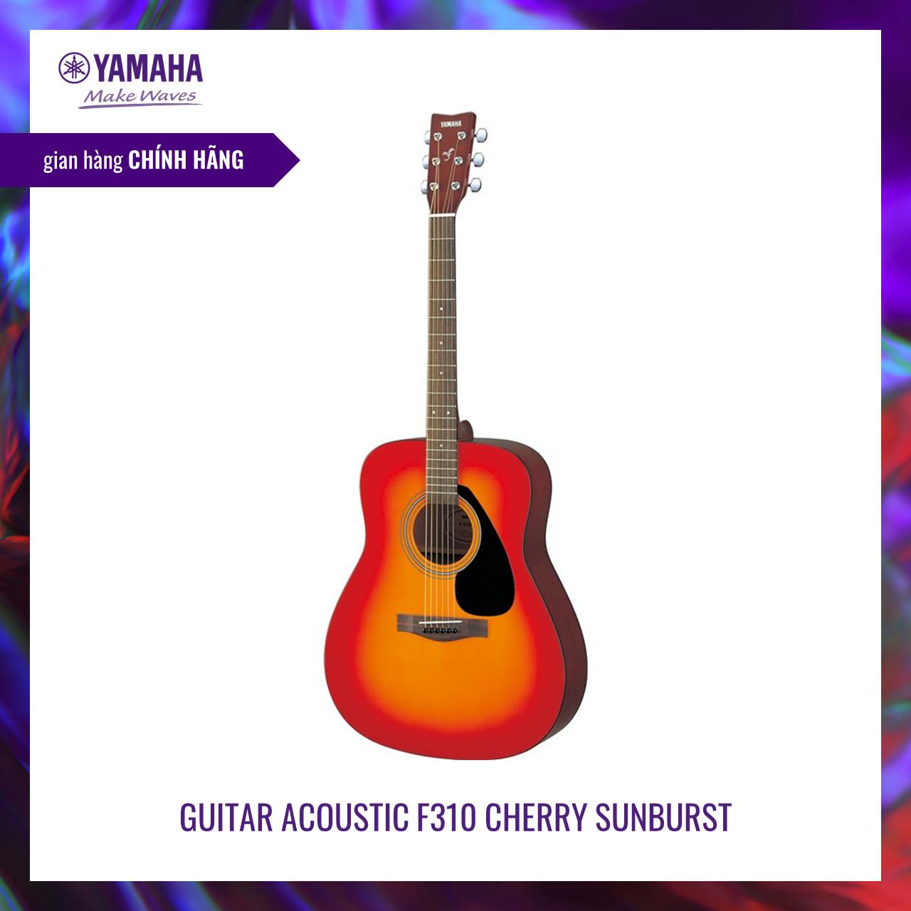 Đàn guitar Acoustic Yamaha F310 – Top Spruce, Gỗ Back & Side Tonewood, Xuất xứ Indonesia – Bảo hành chính hãng 12 tháng