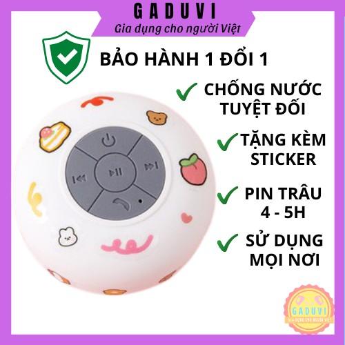 Loa Bluetooth Chống Nước,Đặt Trong Nhà tắm Không Dây Tặng Kèm Sticker