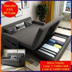 Sofa giường gấp gọn, giường kiêm ghế sofa, Giường xếp gọn thành ghế, hàng cao cấp, chất lượng cao KT 1m9x1m92