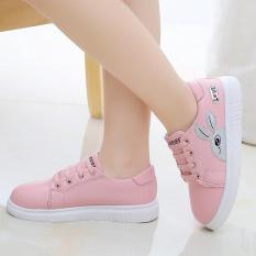 giày thể thao bé gái từ 4 – 13 tuổi – TE201(không buộc dây)