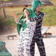 Đồ Bộ PIJAMA Trái Cây Trái Chuối – Trái Dưa Hấu – Trái Thơm – Hoa Hướng Dương Đi Biển Mặc Nhà Mặc Ngủ Dưới 60kg Z3
