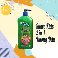Dầu Gội Xả Tóc Trẻ Em Suave Kids 2 in 1 Mỹ 532ml – Hương Dâu Tây