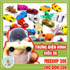 Đồ chơi trứng biến hình ô tô máy bay robot cực hay – thị trấn đồ chơi