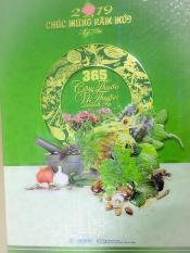 Bloc Lịch Siêu Đại (20.5×29.5cm) – 356 Cây Thuốc Vị Thuốc Quanh Ta