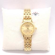 Đồng hồ nữ HALEI dây kim loại thời thượng ( HL502 dây vàng mặt vàng ) – TẶNG 1 vòng tỳ hưu phong thuỷ