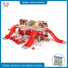 Đồ chơi trẻ em- bộ đồ chơi ô tô- đồ chơi mô hình nhà xe thông minh, chất liệu nhựa ABS an toàn cho trẻ