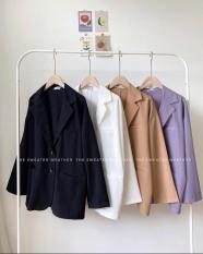 áo blazer phom suông 4 màu chất vải cao cấp xuất dư