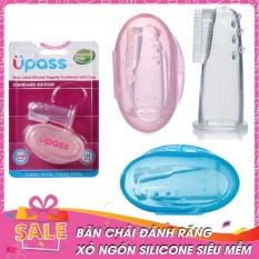 Bàn Chải Đánh Răng UPASS UP4002NX/ UP4002NH Xỏ Ngón Với Chất Liệu Silicone Siêu Mềm,Dùng Cho Trẻ Từ 0-18 Tháng Tuổi