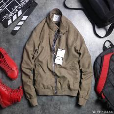 [Lấy mã giảm thêm 30%]áo khoác nam da lộn phong cách