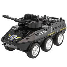 Mô hình xe đồ chơi xe cảnh sát bọc thép cho bé chất liệu nhựa an toàn, đẹp, sắc sảo