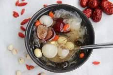Chè tuyết yến/ Combo 1 gói lớn nguyên liệu nấu chè dưỡng nhan tuyết yến 12 vị dành cho 3 – 4 người ăn