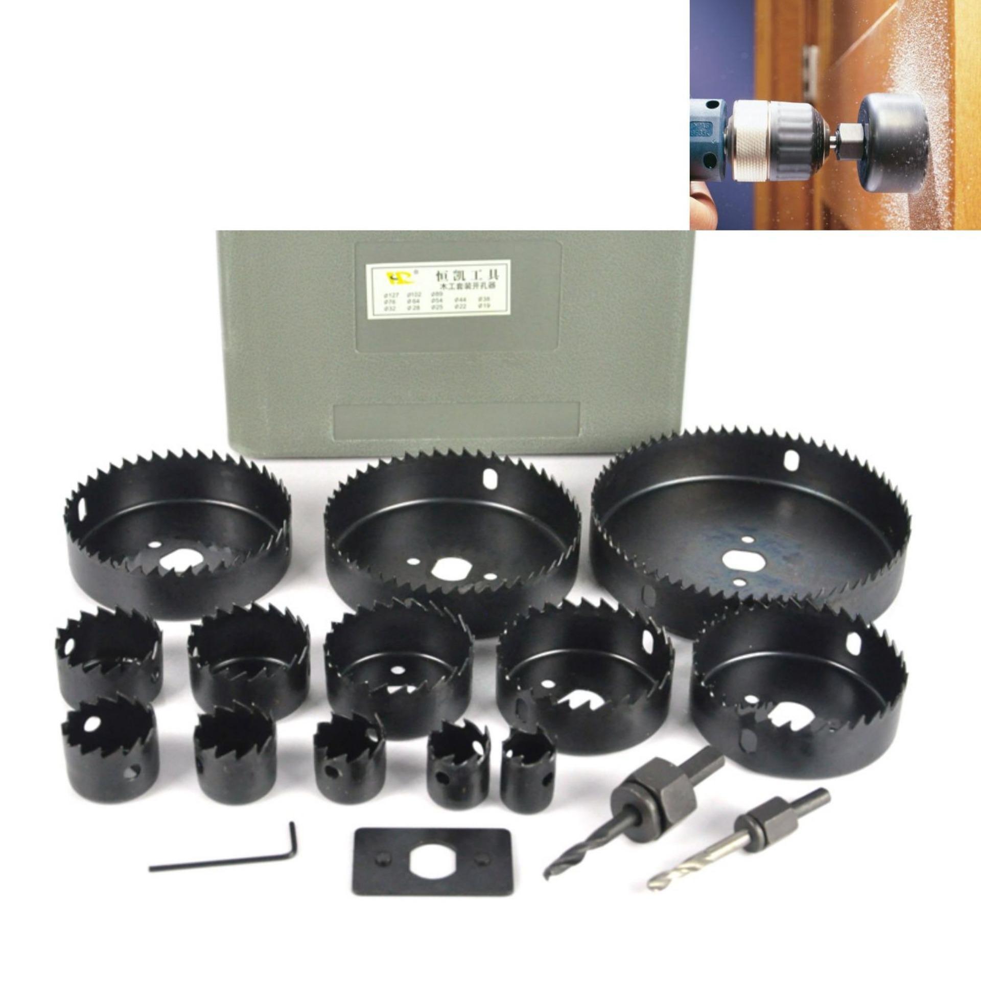Khoét lỗ thùng loa – Mũi khoan khoét lỗ thạch cao[HTS][DLCG] chuyên dụng cho bề mặt thạch cao và gỗ. Dễ dàng lắp đặt, sử dụng đơn giản hiệu quả.