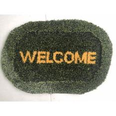 Thảm Lau Chân Vải Cao Cấp Welcome