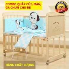[HÀNG 2020][ Nôi cũi gỗ, giường cũi cho bé