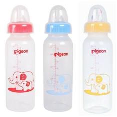Bình sữa cổ hẹp Pigeon PP tiêu chuẩn voi 240ml màu ngẫu nhiên – BEEKIDS PLAZA