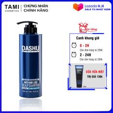Dầu gội ngăn rụng tóc dành cho nam DASHU Anti – Hair Loss Scalp Shampoo Phục hồi tóc hư tổn Sạch gàu và ngứa dầu gội Hàn Quốc 500ml TM-DG01