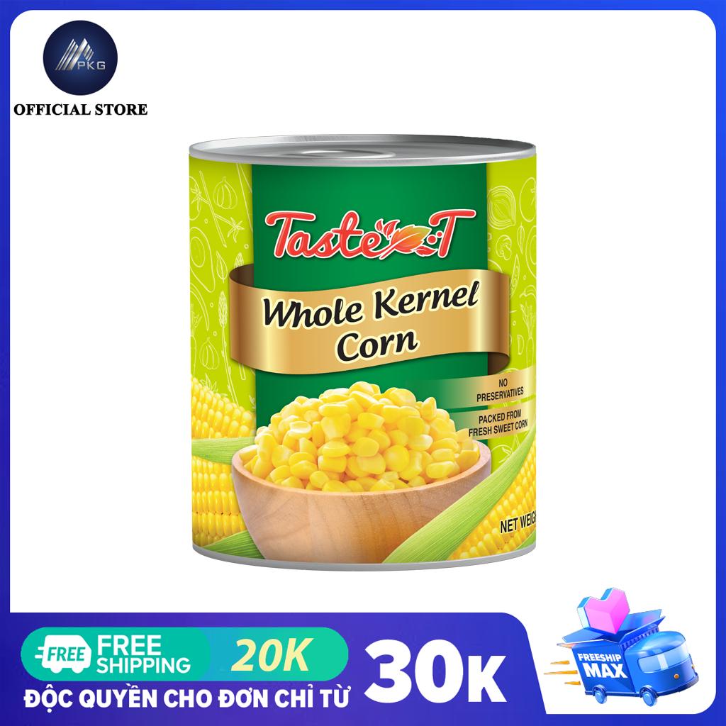 Bắp Hạt Đóng Hộp Taste-T 2,95kg, thương hiệu Thái Lan, HSD 36 tháng
