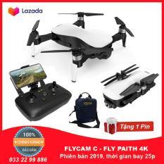 Flycam C – FLY PAITH 4K ( C Fly Paith ), Gimbal 3 Trục, Cảm Biến Bụng, Thời Gian Bay 25-28 Phút Tầm Xa Điều Khiển LÊN TỚI 2Km