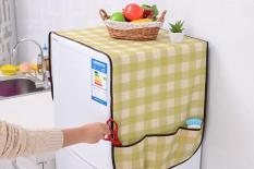 Tấm chống bụi cho tủ lạnh có túi đựng tiện lợi