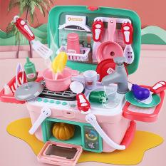 đồ chơi nhà bếp,đồ chơi nấu ăn đẹp (35 chi tiết)