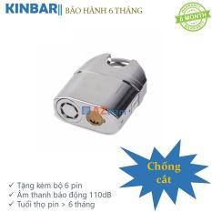 Ổ khóa báo động chống trộm, chống cắt KinBar K106C (Trắng Bạc)
