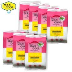 4 gói Max Cool 25 tờ, hương trà xanh (2 màu)
