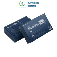 Tăng cường sinh lý nam loại 1h Rostex MG bổ thận, tráng dương, tăng sinh lực, kéo dài thời gian – Hộp 10 viên