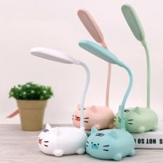 Đèn LED để bàn hình thú dễ thương, đèn LED sạc pin tiện lợi (DLT06)